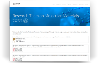 Research Team on Molecular Materials