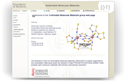 Switchable Molecular Materials group